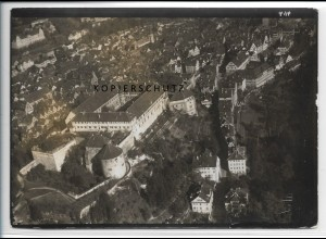 ZZ-5125/ Tübingen Foto seltenes Luftbild ca. 1935 18 x 13 cm
