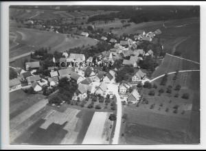 ZZ-3694/ Sirchingen bei Bad Urach Foto seltenes Luftbild 1938 18 x 13 cm