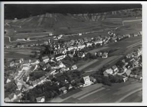 ZZ-3696/ Wehingen Foto seltenes Luftbild 1936 18 x 13 cm
