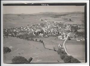 ZZ-3697/ Westerheim b. Laichingen Foto seltenes Luftbild 1939 18 x 13 cm