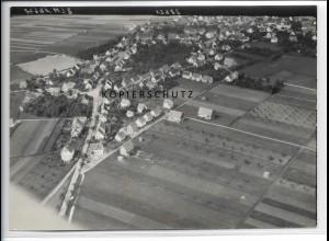ZZ-3602/ Winterlingen Foto seltenes Luftbild 1939 18 x 13 cm