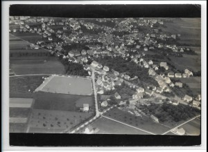 ZZ-3600/ Winterlingen Foto seltenes Luftbild 1939 18 x 13 cm