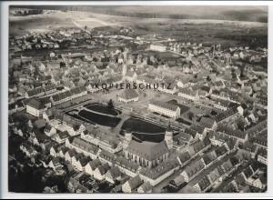 ZZ-5509/ Freudenstadt seltenes Foto Luftbild 18 x 13 cm
