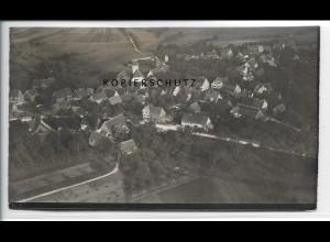 ZZ-3700/ Spielberg bei Altensteig Foto seltenes Luftbild 1936 18 x 10,5 cm