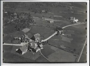 ZZ-3582/ Kniebis b. Freudenstadt Foto seltenes Luftbild 1937 18 x 13 cm