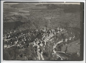 ZZ-3578/ Wildberg Foto seltenes Luftbild ca.1936 18 x 13 cm