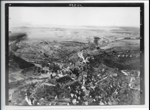ZZ-3577/ Wildberg Foto seltenes Luftbild ca.1936 18 x 13 cm