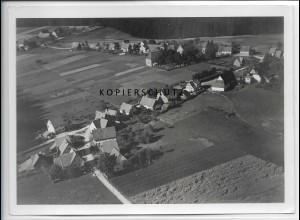 ZZ-3574/ Schömberg Foto seltenes Luftbild 1937 18 x 13 cm