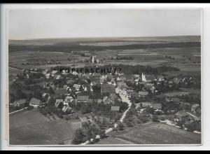 ZZ-3573/ Loßburg Foto seltenes Luftbild ca.1936 17 x 12 cm
