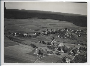 ZZ-3569/ Besenfeld bei Seewald Foto seltenes Luftbild 1935 18 x 13 cm