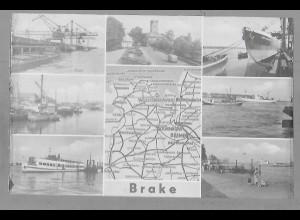 Neg5891/ Brake Hafen altes Negativ 50er Jahre