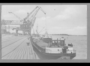 Neg5890/ Brake Hafen altes Negativ 50er Jahre