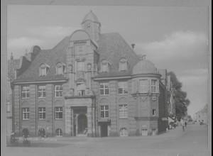 Neg5954/ Buxtehude Rathaus altes Negativ 50/60er Jahre