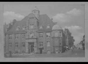 Neg5950/ Buxtehude Rathaus altes Negativ 60er Jahre