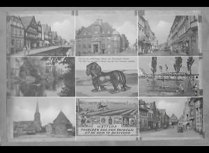 Neg5946/ Buxtehude Dackel altes Negativ 60er Jahre
