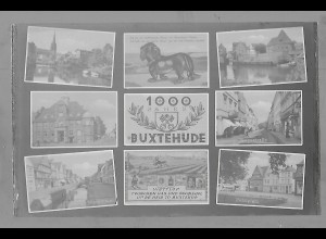 Neg5945/ Buxtehude Dackel altes Negativ 60er Jahre