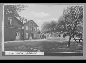 Neg5871/ Krempe Holstein Ahsbahs-Stift altes Negativ 50er Jahre