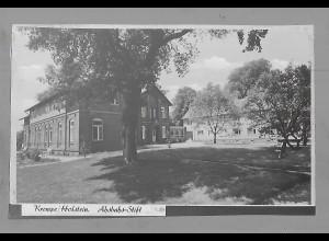 Neg5870/ Krempe Holstein Ahsbahs-Stift altes Negativ 50er Jahre