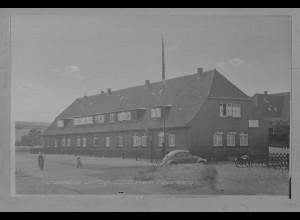 Neg5942/ List D.G.B. Heim Mövenberg VW Käfer Sylt altes Negativ 60er Jahre