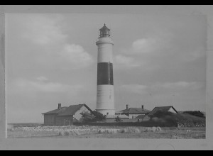 Neg5939/ Kampen Sylt Leuchtturm altes Negativ 60er Jahre