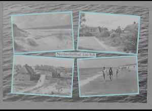 Neg5934/ List auf Sylt altes Negativ 60er Jahre
