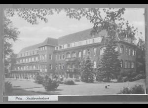 Neg5926/ Peine Krankenhaus altes Negativ 50er Jahre