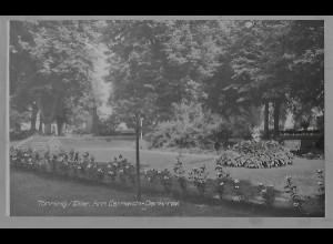 Neg5925/ Tönning Esmarch-Denkmal altes Negativ 50/60er Jahre