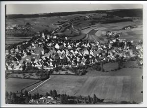 ZZ-3633/ Greding Foto seltenes Luftbild 1936 18 x 13 cm