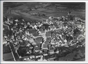 ZZ-3634/ Greding Foto seltenes Luftbild 1936 18 x 13 cm
