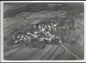 ZZ-3635/ Aue bei Haundorf Foto seltenes Luftbild 1936 18 x 13 cm