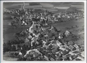 ZZ-3640/ Büchenbach Foto seltenes Luftbild 1936 18 x 13 cm