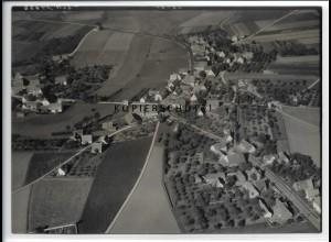 ZZ-3641/ Buchschwabach - Roßtal Foto seltenes Luftbild 1939 18 x 13 cm