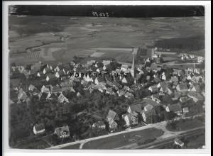 ZZ-3652/ Ottensoos bei Lauf Foto seltenes Luftbild 1936 18 x 13 cm