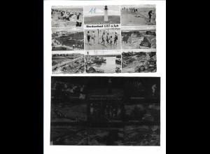 Neg5968/ List auf Sylt AK altes Negativ 50er Jahre