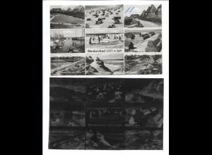 Neg5966/ List auf Sylt AK altes Negativ 50er Jahre