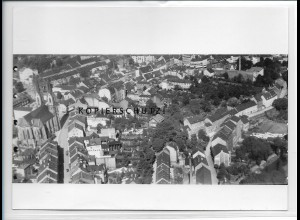 ZZ-3783/ Hof Foto seltenes Luftbild 1936 18 x 13 cm