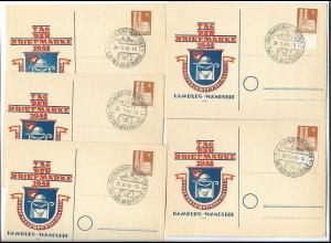DP481/ Tag der Briefmarke 1948 Hamburg Wandsbek
