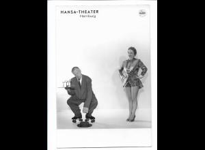 C4077/ Hansa-Theater Hamburg Variete Foto Rollschuh-Artist Foto Mahler 18x12 cm