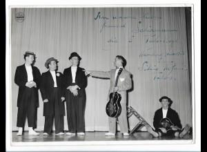 C4075/ 5 Talo-Boys Hansa Theater, Hamburg Photo Mahler Variete 1956 24x18 cm