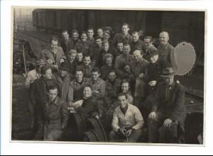 C4074/ UFA Filmteam ca.1930-35 Foto 17,5 x 12 cm