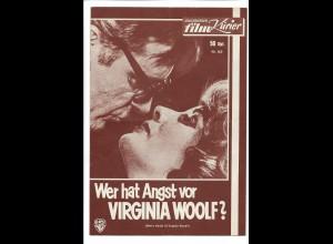 C4070/ IFK Nr.163 Filmprogramm Wer hat Angst vor Virginia Woolf? Liz Taylor