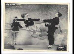 C4063/ Rollschuh-Artisten Variete Foto Mahler ca.1955 24 x 18cm