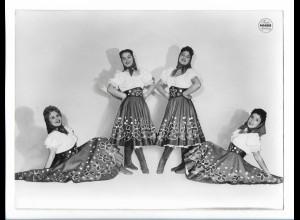 C4062/ Akrobaten Variete Foto Mahler ca.1955 24 x 18cm
