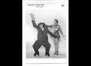 C4059/ Hansa-Theater Hamburg Variete Foto Rollschuh-Artist Foto Mahler 18x12 cm