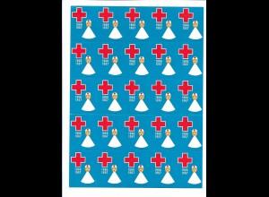 C4097/ Dänemark Rotes Kreuz Marken Rode Kors 1966/1967
