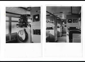C4053/ 2 x Foto Fernseh-Übertragungswagen NWDR ca.1960 18 x 13 cm