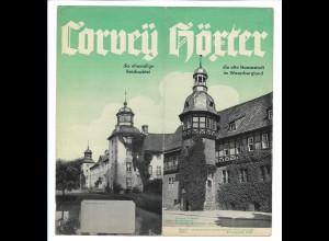 C4085/ Corvey - Höxter Faltprospekt 1938