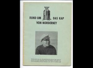 C4081/ Rund um Das Kap von Norderney Heft 24 Seiten 1958