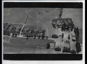 ZZ-3995/ Marienthal bei Roggendorf Foto seltenes Luftbild 1939 18 x 13 cm