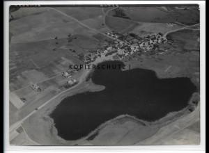 ZZ-5155/ Klein Trebbow Foto seltenes Luftbild 18 x 13 cm 1939